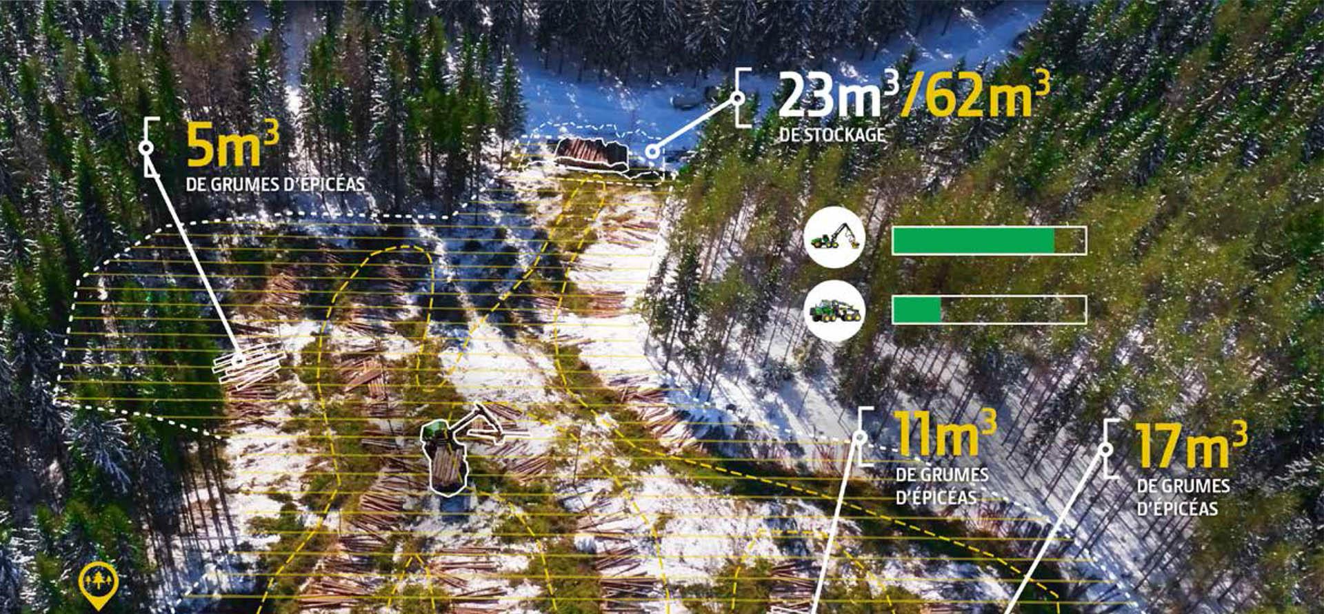 cartographie exploitation forestière