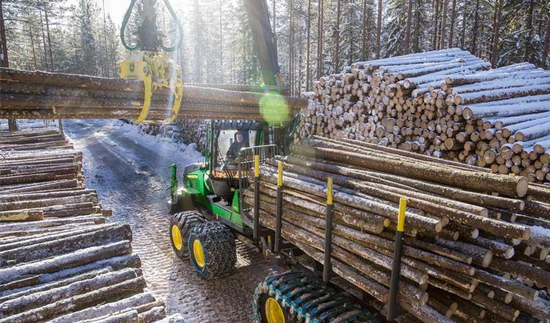 nouveau porteur forestier compact john deere